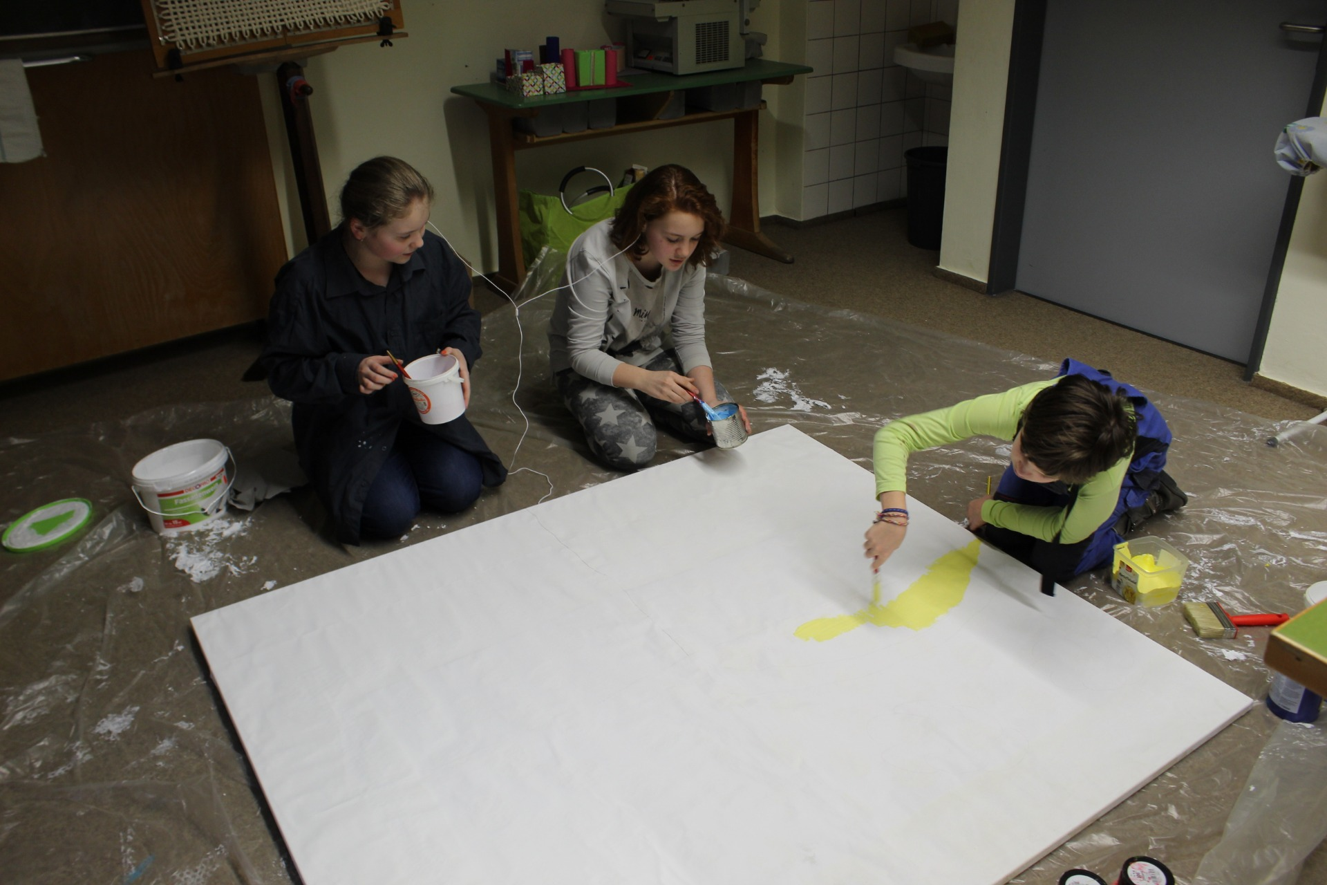 Action-Painting - Bild 1