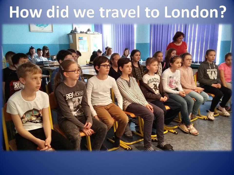 How did we travel to London? - Obrázok 1