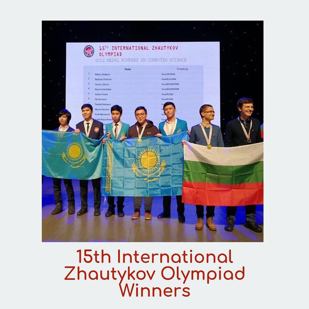 Our students won prize-winning places at the XV International Zhautykov Olympiad in Mathematics, Physics and Informatics. - Image 1